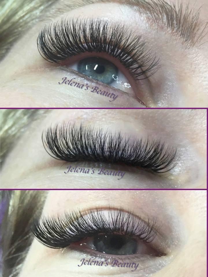 Extra Volume Eyelashes Extensions Melbourne Jelenas Beauty Jelenas